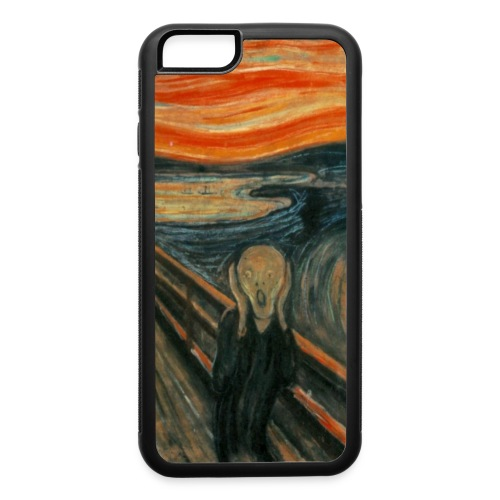 The Scream (Edvard Munch) - iPhone 6/6s Rubber Case