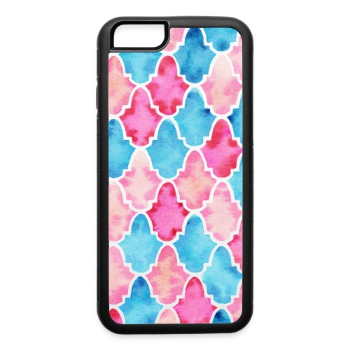 Moroccan tiles - iPhone 6/6s Rubber Case