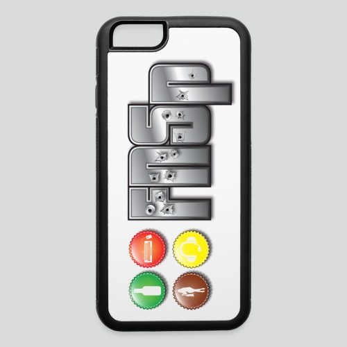 FNSp Bottletops logo design - iPhone 6/6s Rubber Case