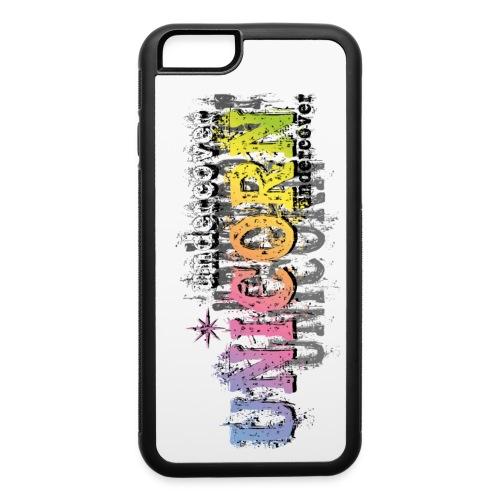 Undercover Unicorn - iPhone 6/6s Rubber Case