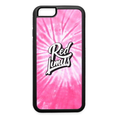 Red Limits Tie Dye - iPhone 6/6s Rubber Case