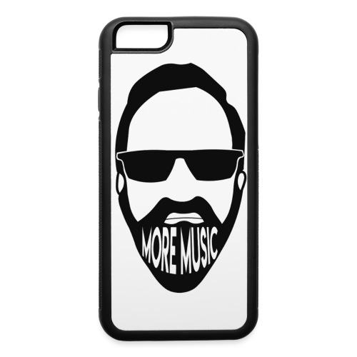 Joey D More Music front image multi color options - iPhone 6/6s Rubber Case