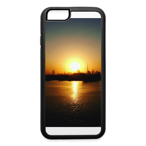 an i phone cover that has a picture of a sun set . - iPhone 6/6s Rubber Case