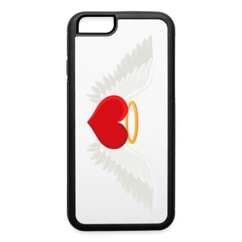 Winged heart - Angel wings - Guardian Angel - iPhone 6/6s Rubber Case