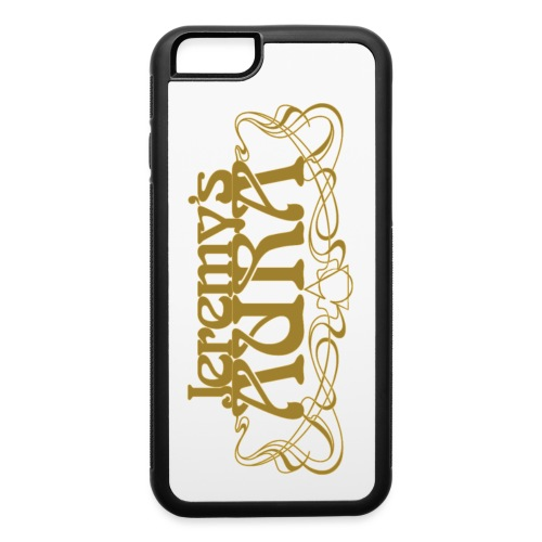 Jeremy's Art Nouveau Logo - iPhone 6/6s Rubber Case