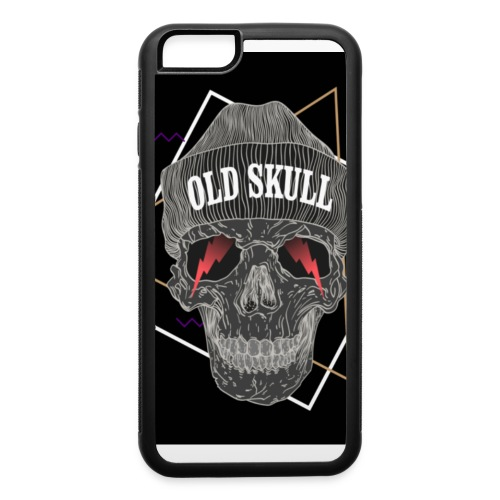 Old Skull T-Shirt - iPhone 6/6s Rubber Case