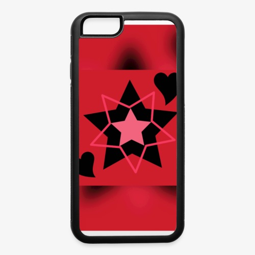 Heart & Star - iPhone 6/6s Rubber Case