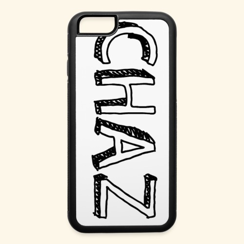 Chaz Black Name - iPhone 6/6s Rubber Case