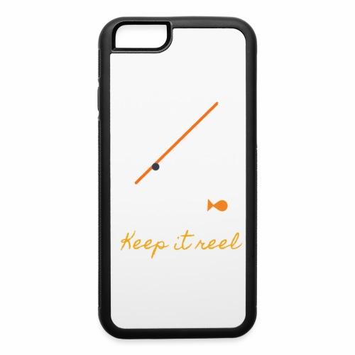 Keep it Reel (Orange) - iPhone 6/6s Rubber Case