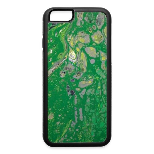 Green bubbles - iPhone 6/6s Rubber Case