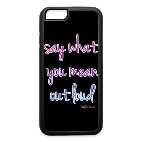 Out Loud - Gabbie Hanna - iPhone 6/6s Rubber Case