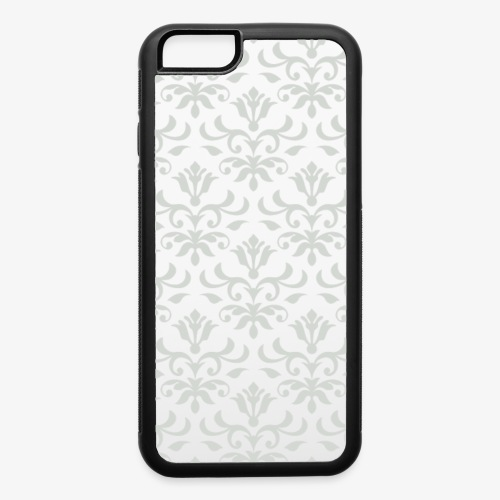 Ornate Pattern 01 Silver - iPhone 6/6s Rubber Case