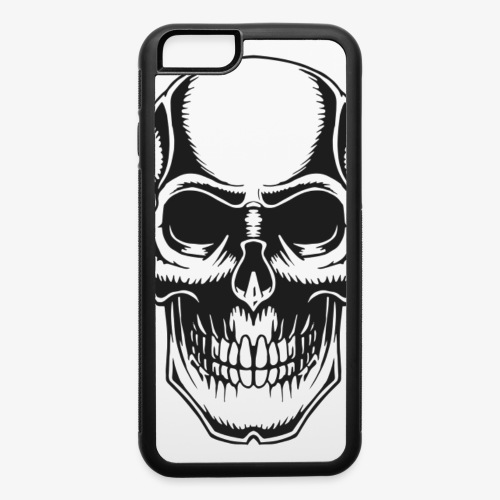 Skull Vintage Tattoo - iPhone 6/6s Rubber Case