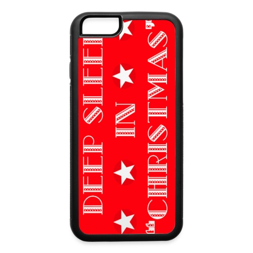 Christmas theme - iPhone 6/6s Rubber Case