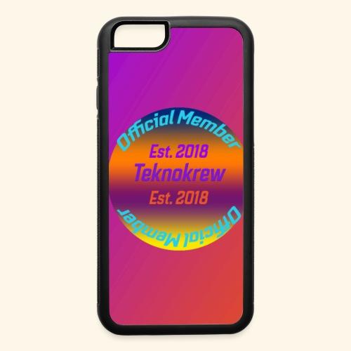 TeknoKrew Phone Case - iPhone 6/6s Rubber Case
