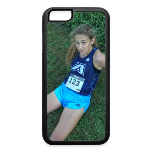 running on E - iPhone 6/6s Rubber Case