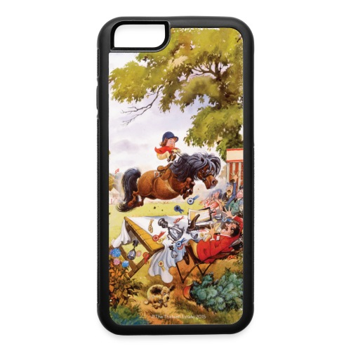 PonyTournament Thelwell Cartoon - iPhone 6/6s Rubber Case