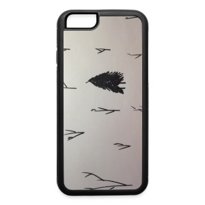 Black and White lone Tree. - iPhone 6/6s Rubber Case