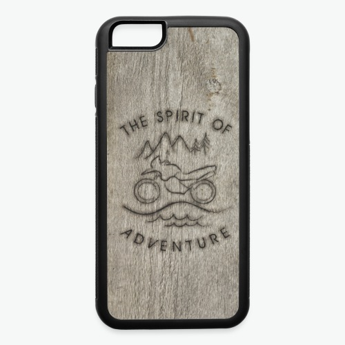 Rustic Adventure Motorcycle - iPhone 6/6s Rubber Case