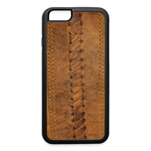 leather texture - iPhone 6/6s Rubber Case