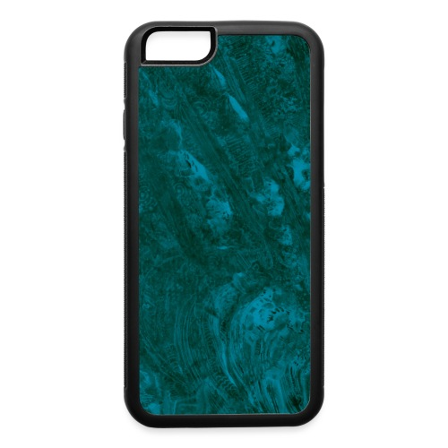 Oil spill (teal) - iPhone 6/6s Rubber Case