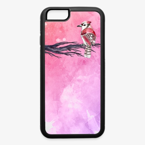 Iphone cases - Bird Art - iPhone 6/6s Rubber Case
