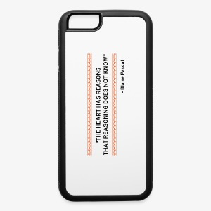 Blaise Pascal - Quote - iPhone 6/6s Rubber Case