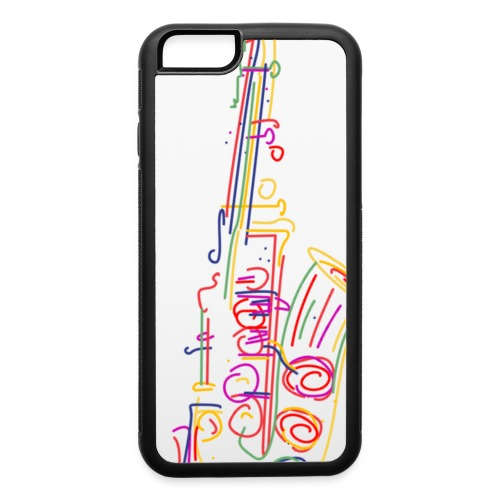 Saxophone - iPhone 6/6s Rubber Case