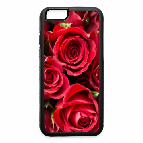 red rose beauty design - iPhone 6/6s Rubber Case