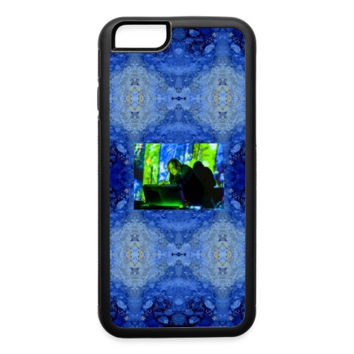 Infinity Background with picture of Franck Martin - iPhone 6/6s Rubber Case