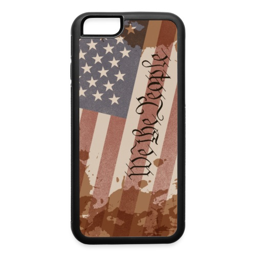 We The People Constitution of The USA - iPhone 6/6s Rubber Case