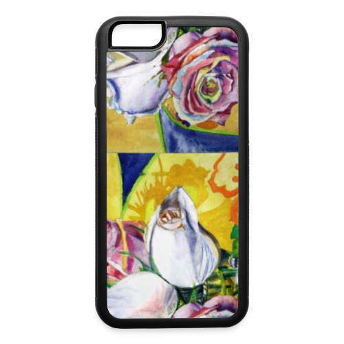 IMG 4323Spliced Roses - iPhone 6/6s Rubber Case