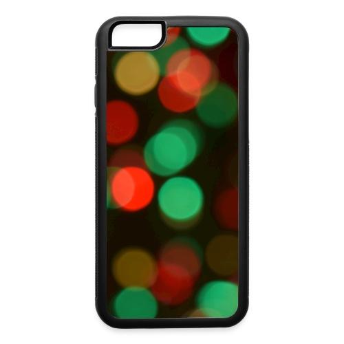 Christmas Lights (Bokeh) - iPhone 6/6s Rubber Case