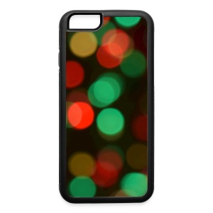 Christmas Lights (Bokeh) - iPhone 6/6s Rubber Case