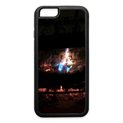 colorful flames - iPhone 6/6s Rubber Case