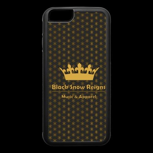 Black Snow Reigns Gold Case - iPhone 6/6s Rubber Case