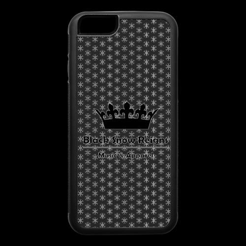 Black Snow Reigns Black Case - iPhone 6/6s Rubber Case