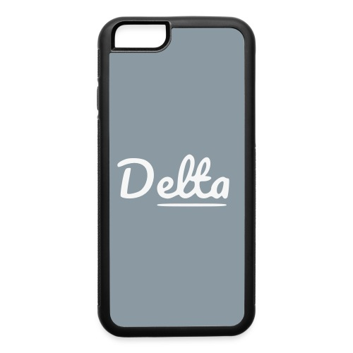 DeltaSilverPhoneCases - iPhone 6/6s Rubber Case