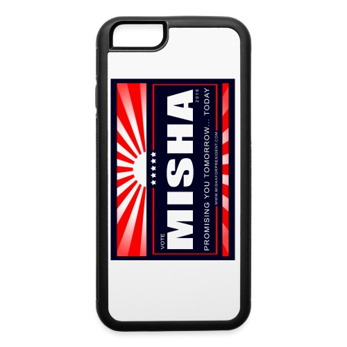 Vote 4 Misha Poster - iPhone 6/6s Rubber Case