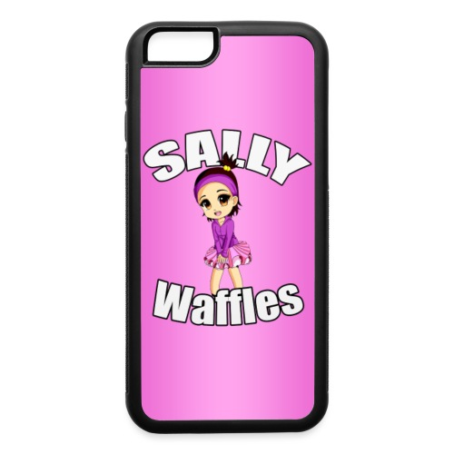 SallyWaffles iPhone6 png - iPhone 6/6s Rubber Case