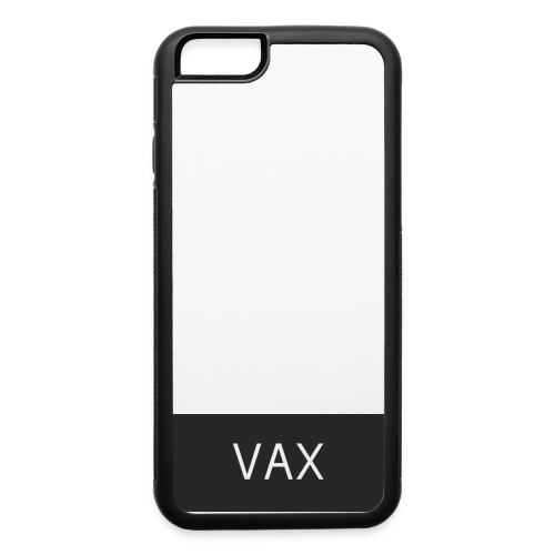 Iphone 6/6s black and white case (vax) - iPhone 6/6s Rubber Case
