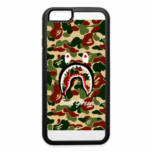 bape shark camo wallparer - iPhone 6/6s Rubber Case