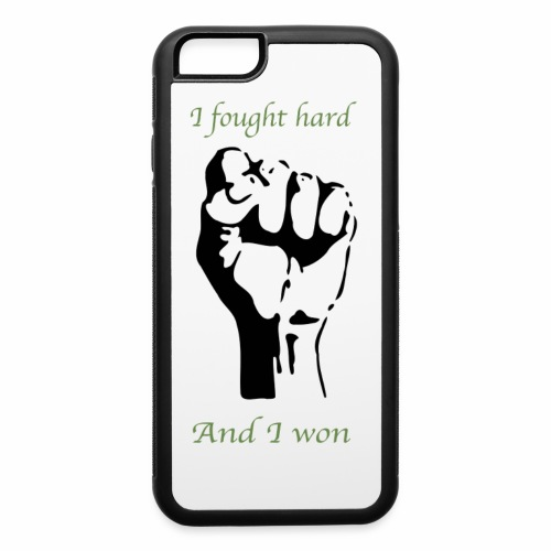 I won! - iPhone 6/6s Rubber Case