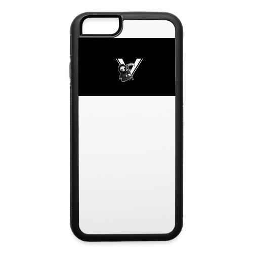 half skull case - iPhone 6/6s Rubber Case