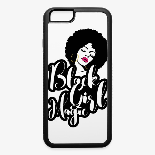 Black Girl Magic - iPhone 6/6s Rubber Case