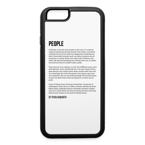 People - iPhone 6/6s Rubber Case