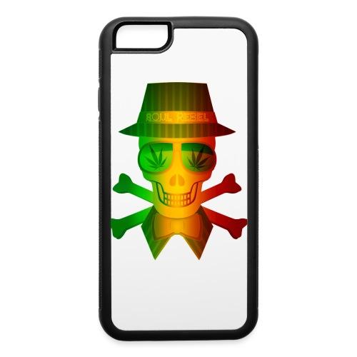 Rasta Man Rebel - iPhone 6/6s Rubber Case