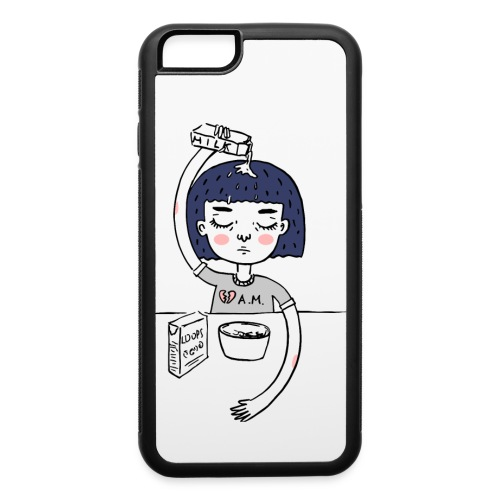 Milk and cereals in the morning - iPhone 6/6s Rubber Case