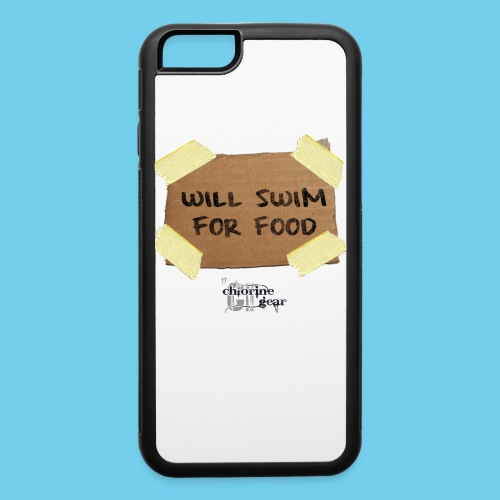 Will Swim For Food - iPhone 6/6s Rubber Case