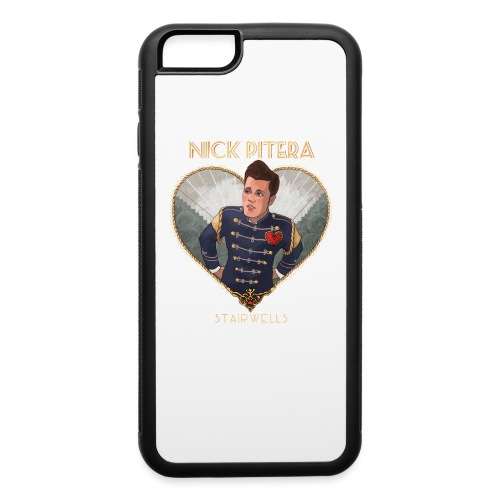 Stairwells EP Heart Text - iPhone 6/6s Rubber Case